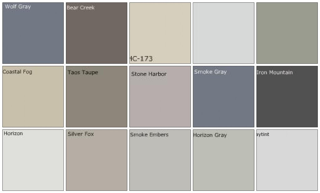 Gray paint designers 39 favorite colors a photo on flickriver for What color is taupe gray
