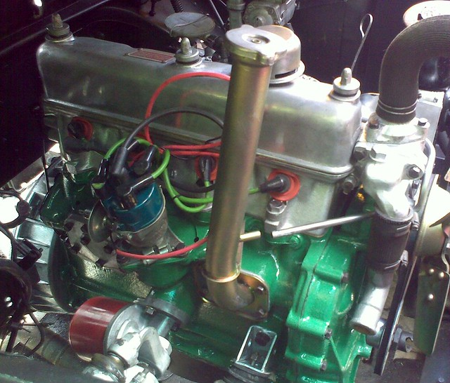 Land Rover Series 2 Rebuilt Engine