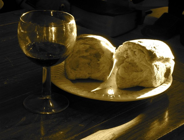 bread and wine #1 from Flickr via Wylio
