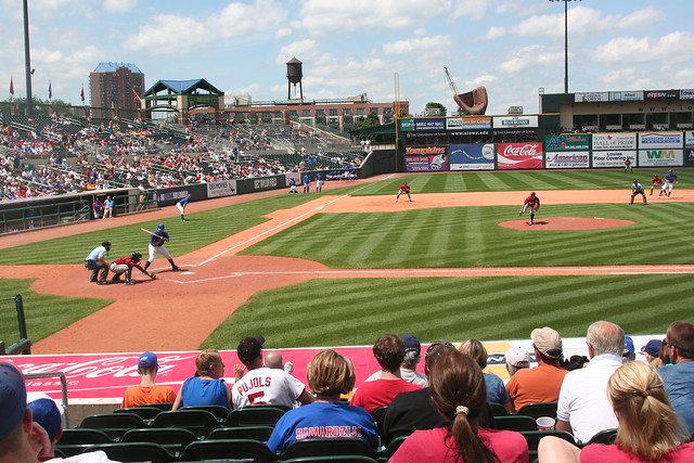 Iowa Cubs Game Flickr Photo Sharing