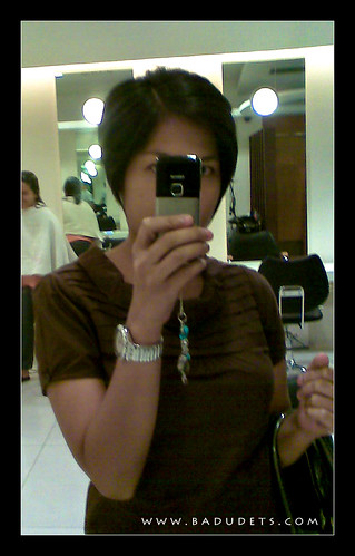 my pixie crop hairstyle by acqua salon badudets