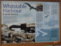 Whitstable Harbour Information Board