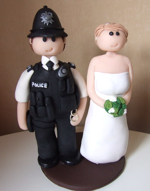 Policeman Cake Design : Policeman cake topper Flickr - Photo Sharing!