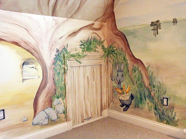 beatrix potter mural cubbyhole4 flickr photo sharing