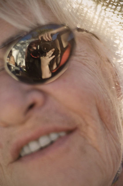 In my grandmother's eyes