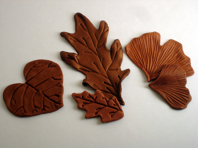 What Shape Is A Stop Sign >> Polymer Clay Leaves from Studio by Sculpey Shape Makers Le… | Flickr - Photo Sharing!