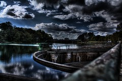 Reservoir jonage/meyzieu
