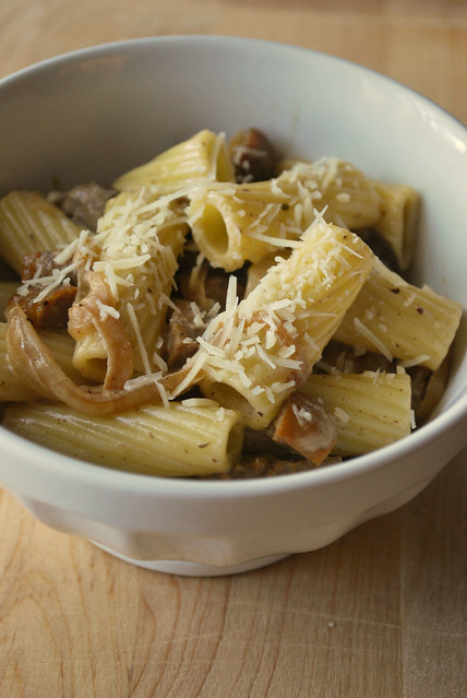 Rigatoni & Chicken Sausage in Marsala Cream Sauce | Flickr - Photo ...