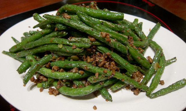 Dry cooked string beans | Flickr - Photo Sharing!