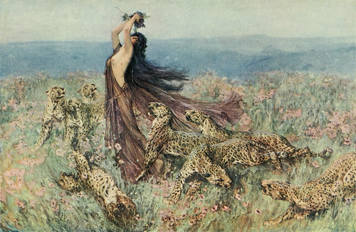 "Arthur Wardle (1864-1949), ""A bacchante"""