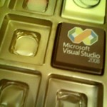 Microsoft Visual Studio chocolate