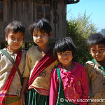School Kids - Shan State, Burma