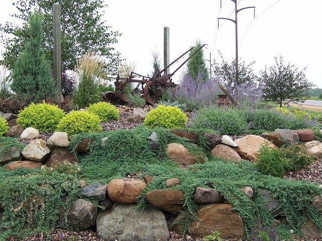 Landscaping Bushes For Wisconsin : B gardens landscaping stone wisconsin flickr photo