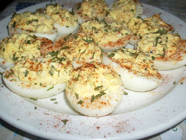 creamy deviled eggs sw:) | Flickr - Photo Sharing!