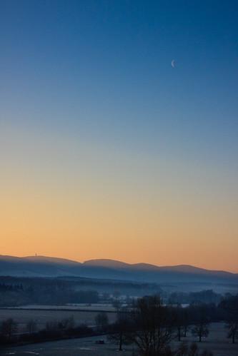 sky sun france sunrise taizé