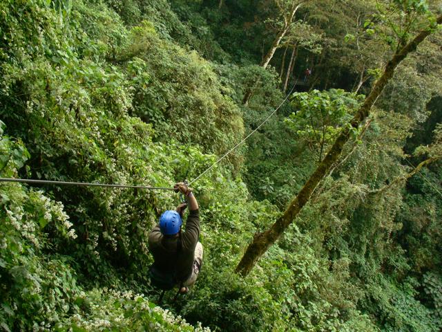 Steven Costa Rica Zip Line DSC00820