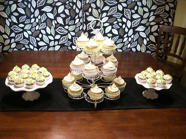 Party display with Lemon Meringue and Key Lime Cupcakes | Flickr ...
