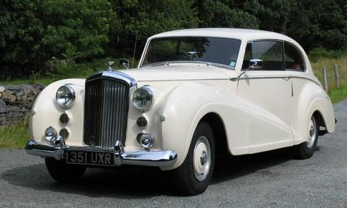 1952 Bentley MKVI James Young Two Door Saloon