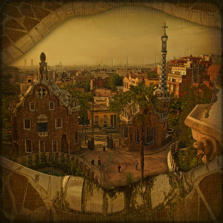 Park Güell (Through Dragon eye)