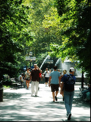 City Hall Park by Lori_NY, on Flickr
