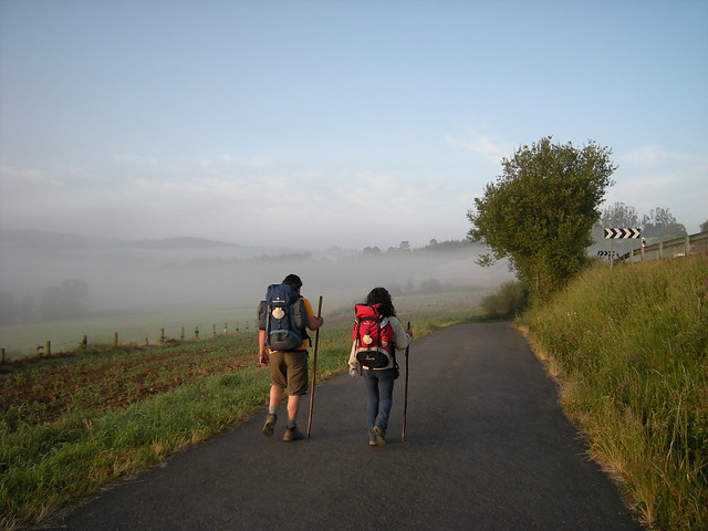 On the Camino again