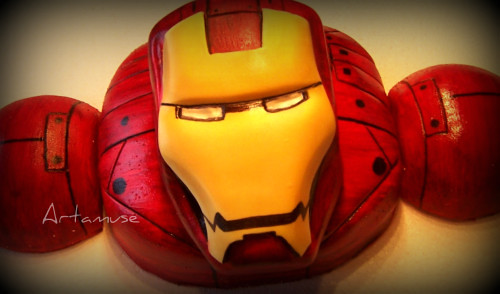 Iron man for my stepson