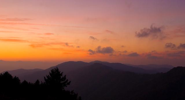 Smoky Mountain Sunrise - Flickr CC epw