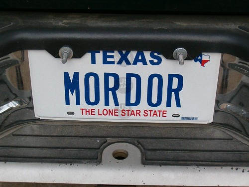 mordor, the lone star state