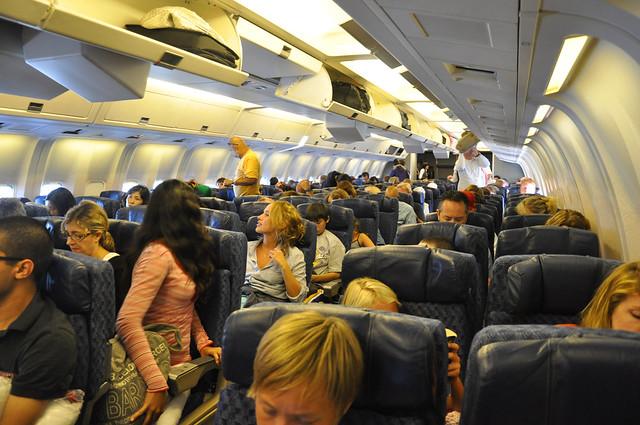 Boeing 767 Cabin