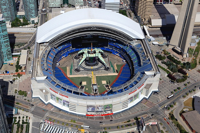 U2 360 176 Tour Toronto Rogers Centre Stage Flickr