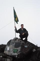Bill on the Summit of Pico da Neblina, Brazil