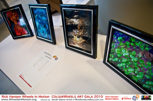 Art forms, Colourwheels ArtGala RickHansen Sarah ElaineOrtal …