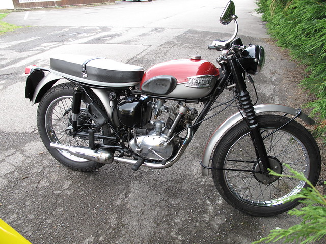 Triumph Tiger Cub http://www.flickr.com/photos/9383961@N05/5745674965/