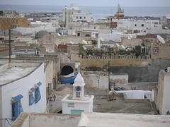 62 View from Cafe Aladin over Sousse medina