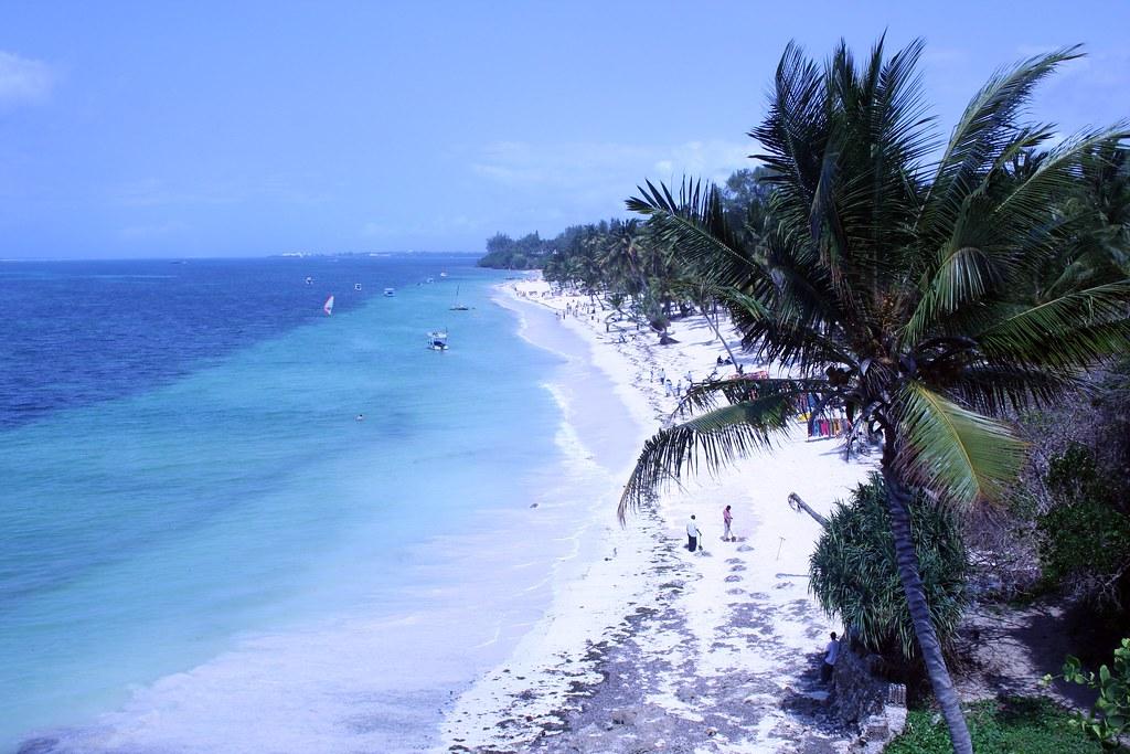 Shanzu пляж