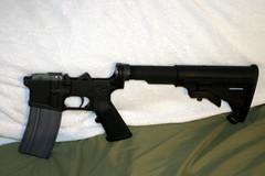 assault rifle, trigger, weapon, firearm, gun,