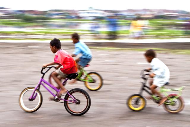 Rajawali, Makassar - Bicycles race