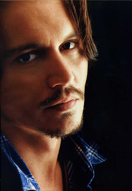 Johnny Depp s Sexiest Man of the Year cover