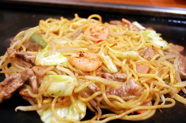 Shio-Yakisoba(Salt chow mein ) Tsukushi at Ustunomiya つくし(宇都宮市)塩焼きそば