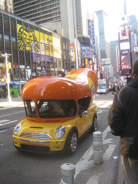 Summertime Is Funtimes additionally Page 14 additionally Mold A Rama Day additionally A friend of mine was selected to drive an oscar further The New Prototype Wienermobile Built On The Mini Cooper S Frame. on cooper weinermobile