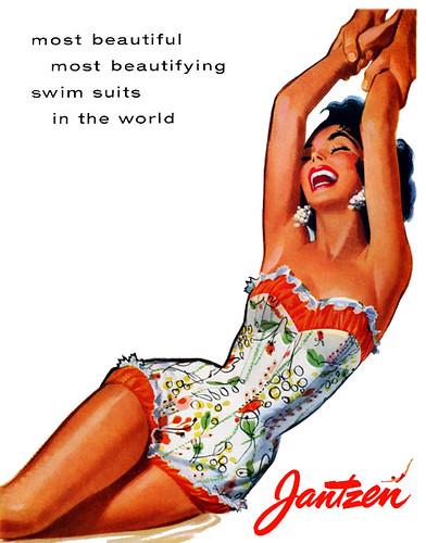 Jantzen Vintage Ad