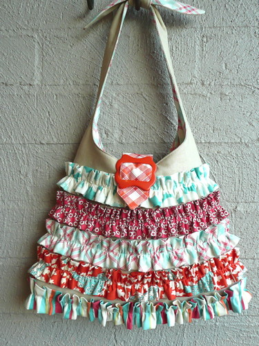 'Urban Chiks' Frilly Dilly bag