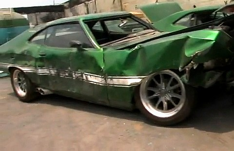 Auto Racing Crashes on Fast And Furious 1972 Gran Torino Crash And Wrecked   Flickr   Photo