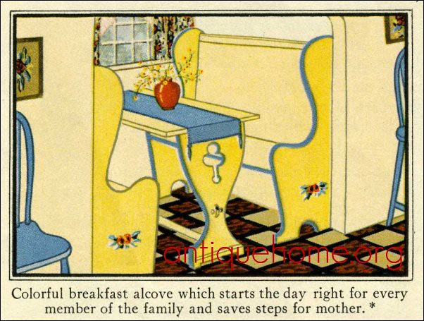 Breakfast Nook from Sears