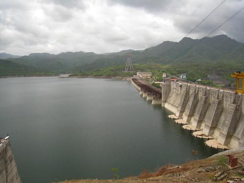Sardar Sarovar Dam on the River Narmada