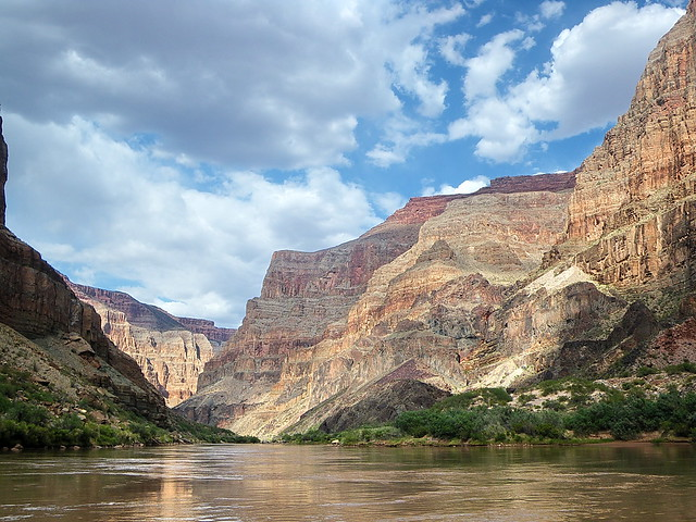 """Light and shadow and time"" - Colorado River - Grand Canyon"
