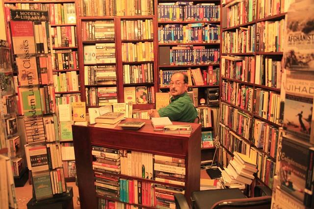 The Book Seller of Basant Lok