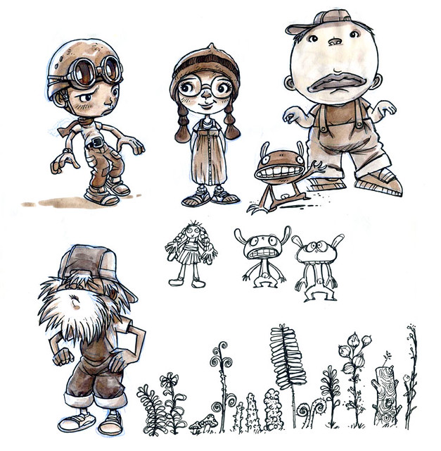 Comic Book Character Design : Character design for comic book tank boy flickr