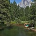 Rafters, Merced River, Half Dome, Yosemite by Daryl L. Hunter - Hole Picture Photo Safaris