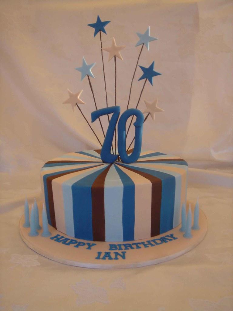 Cake Designs Ideas 70th Birthday : 70th Birthday Cake - a photo on Flickriver